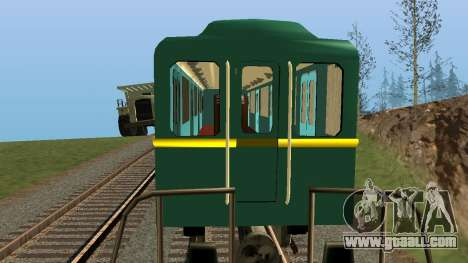 Car type D track recording for GTA San Andreas engine