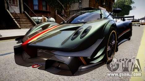 Pagani Zonda R Evolucion Final for GTA 4