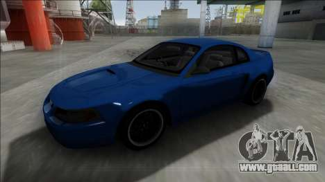 2003 Ford Mustang for GTA San Andreas back left view