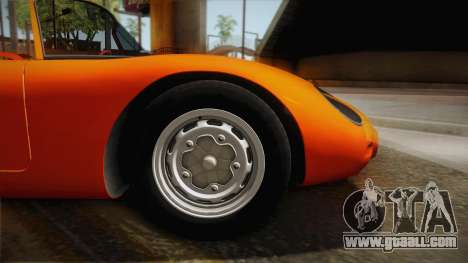 Porsche 718 Spyder RS 1960 for GTA San Andreas back left view