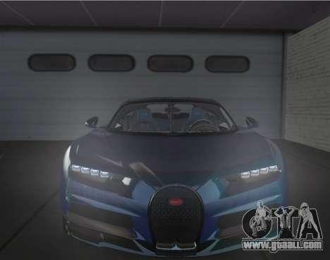 Bugatti Chiron [EPM] for GTA 4