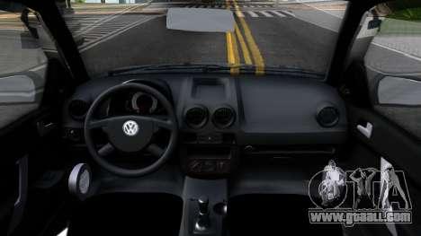 Volkswagen Gol G4 for GTA San Andreas inner view