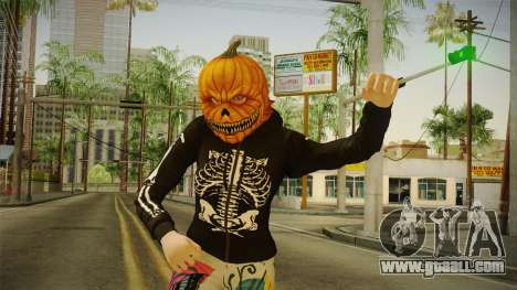 GTA 5 Halloween Skin 1 for GTA San Andreas