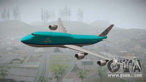 Boeing 747-8i KLM for GTA San Andreas