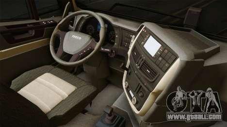 Iveco Trakker Hi-Land 4x2 Cab Low v3.0 for GTA San Andreas inner view