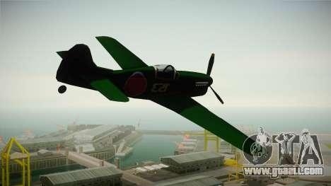 Japan World War 2 Rustler for GTA San Andreas left view