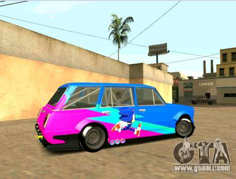 VAZ 2102 Croce for GTA San Andreas back left view