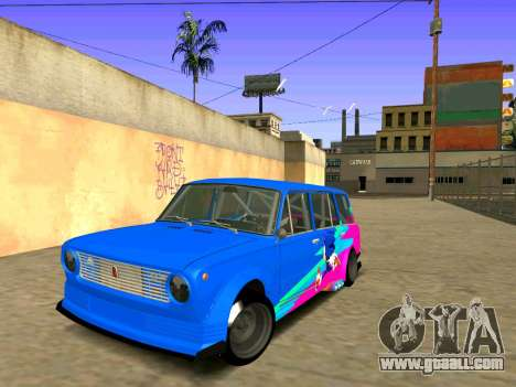 VAZ 2102 Croce for GTA San Andreas right view
