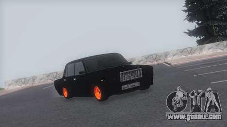 VAZ 2107 TwOne v0.1 for GTA San Andreas