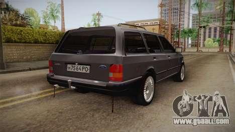 Ford Sierra Kombi 2.3D for GTA San Andreas