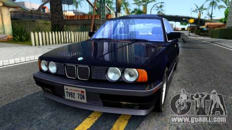 BMW E34 535i for GTA San Andreas
