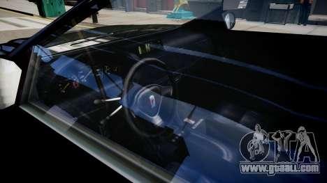 Stinger Civilian Version for GTA 4 inner view