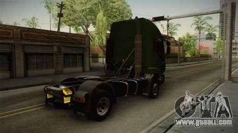 Iveco Trakker Hi-Land 4x2 Cab High v3.0 for GTA San Andreas right view