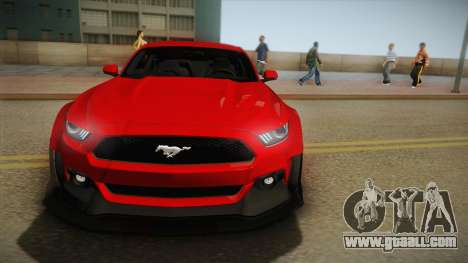 Ford Mustang GT Premium HPE750 Boss 2015 for GTA San Andreas back view