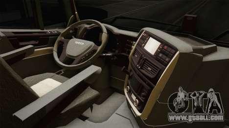 Iveco Trakker Hi-Land 4x2 Cab High v3.0 for GTA San Andreas inner view