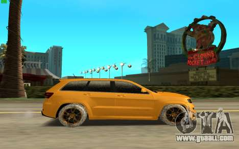 Jeep Cherokee SRT 8 for GTA San Andreas left view