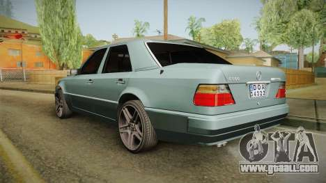 Mercedes-Benz E500 W124 AMG for GTA San Andreas left view