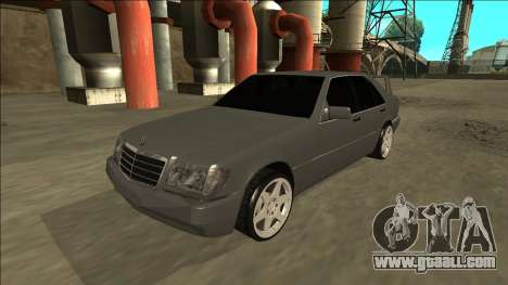 Mercedes Benz W140 Evolution for GTA San Andreas back left view