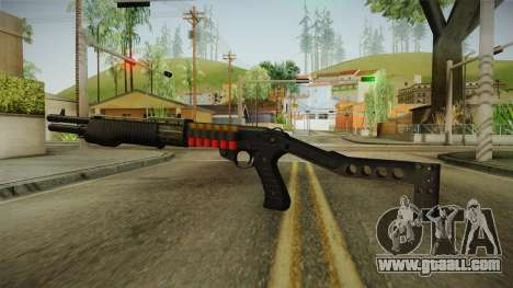SPAS-12 Long Barrel and Magazine for GTA San Andreas second screenshot
