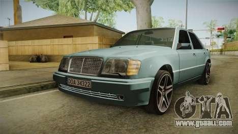 Mercedes-Benz E500 W124 AMG for GTA San Andreas
