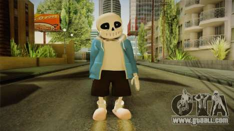 Sans The Skeleton for GTA San Andreas second screenshot