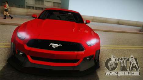 Ford Mustang GT Premium HPE750 Boss 2015 for GTA San Andreas right view