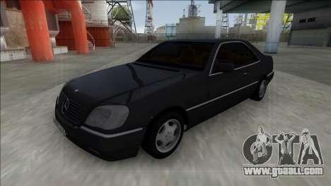 1993 Mercedes-Benz 600SEC for GTA San Andreas