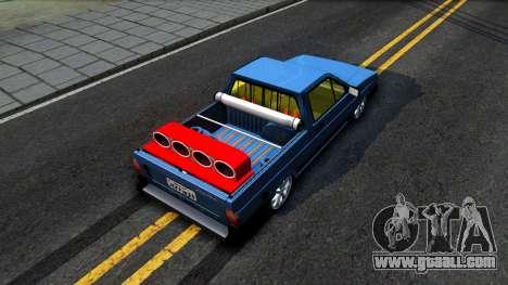 Volkswagen Saveiro for GTA San Andreas back view