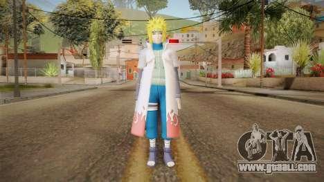 Minato Edo Tensei Hokage Outfit (Sage Mode) for GTA San Andreas second screenshot