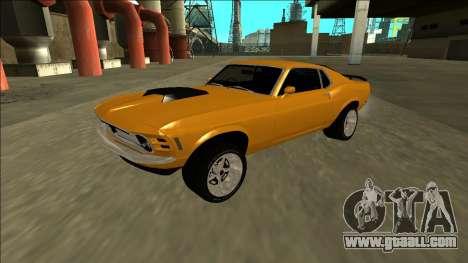 1970 Ford Mustang Boss 429 for GTA San Andreas