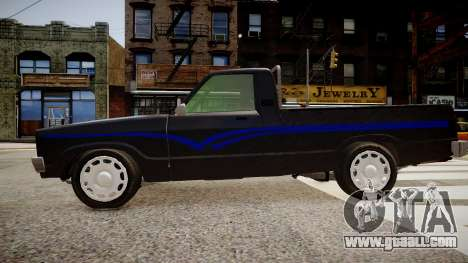 Mazda Pickup for GTA 4 left view