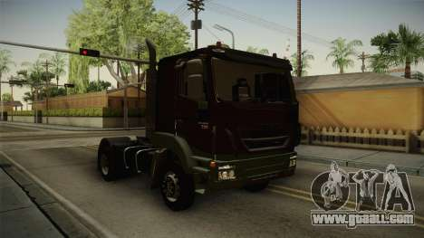 Iveco Trakker Hi-Land 4x2 Cab Low v3.0 for GTA San Andreas right view