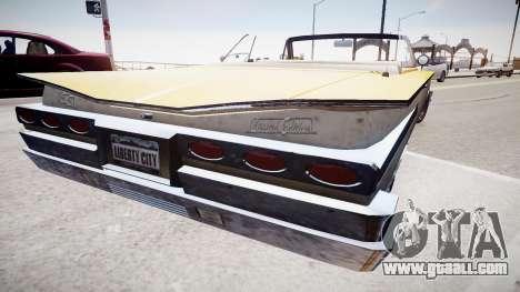 Voodoo Cabrio for GTA 4 left view