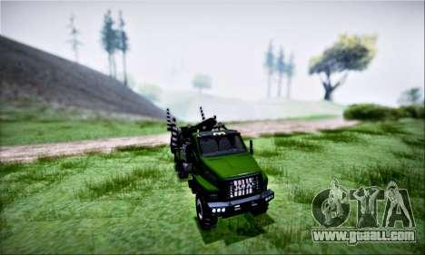 URAL NEXT Timber (IVF) for GTA San Andreas