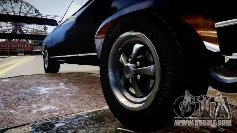 Chevrolet Nova for GTA 4 back view