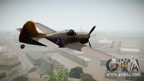 US World War 2 Rustler for GTA San Andreas right view