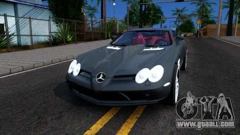 Mercedes-Benz SLR Mclaren 2011 for GTA San Andreas
