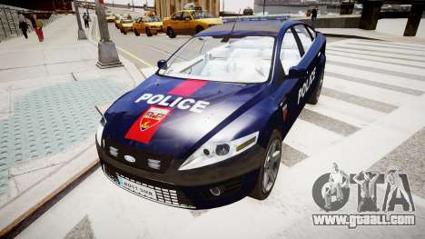 Ford Mondeo Police Nationale for GTA 4