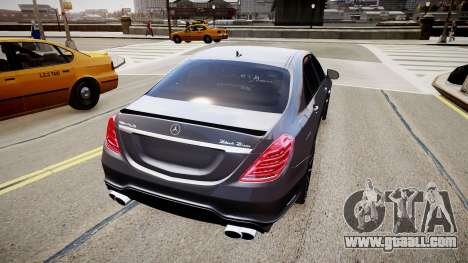 Mercedes-Benz S63 AMG W222 WALD for GTA 4 left view