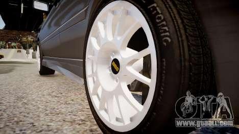 Volkswagen Golf 3 GTI for GTA 4 back view