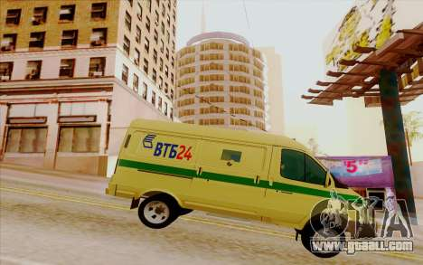 GAS 3221 for GTA San Andreas left view