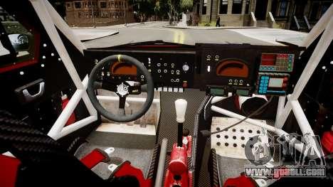 Mitsubishi Montero EVO MPR11 2005 for GTA 4 inner view