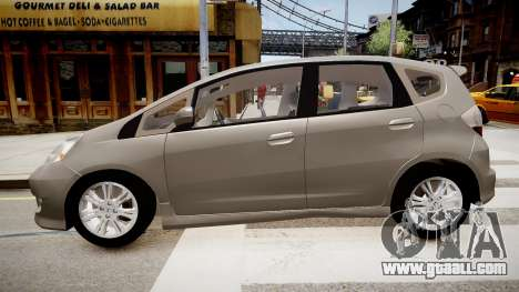 Honda Fit for GTA 4 left view