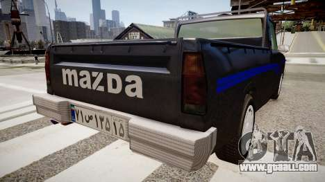 Mazda Pickup for GTA 4 back left view