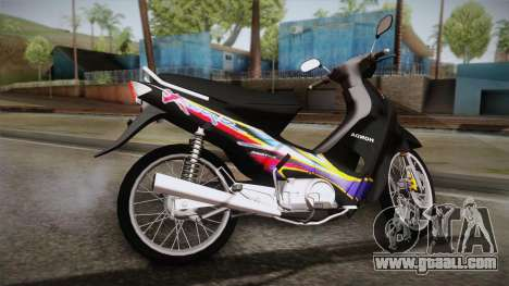 Honda Supra X 2004 Full STD for GTA San Andreas left view