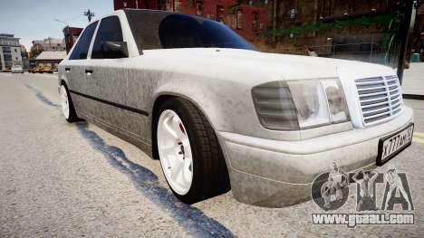 Mercedes-Benz W124 BRABUS v1.0 for GTA 4 right view