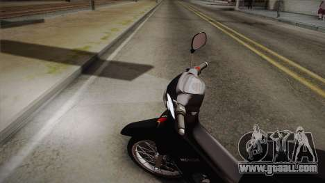 Honda Supra X 2004 Full STD for GTA San Andreas back left view