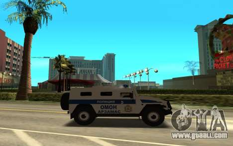 GAZ-233036 for GTA San Andreas left view