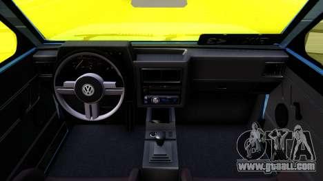 Volkswagen Saveiro for GTA San Andreas inner view