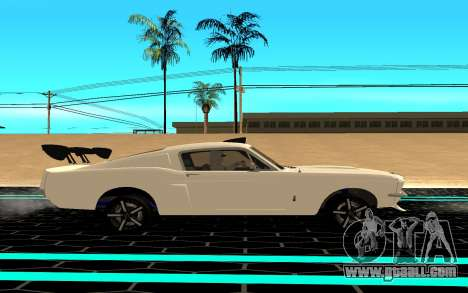Shelby Mustang GT500 for GTA San Andreas left view
